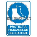 Protectia picioarelor OBLIGATORIE