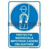 Protectia individuala impotriva caderii OBLIGATORIE