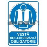Vesta reflectorizanta OBLIGATORIE