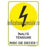 INALTA TENSIUNE RISC DE DECES !