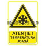 ATENTIE ! Temperatura Joasa