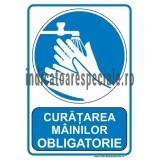 Curatarea mainilor OBLIGATORIE