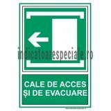 CALE DE ACCES SI DE EVACUARE