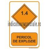 PERICOL DE EXPLOZIE 1.4