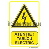 ATENTIE ! Tablou electric
