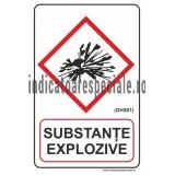 SUBSTANTE EXPLOZIVE (GHS01)