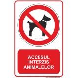 ACCESUL INTERZIS ANIMALELOR