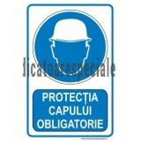 Protectia capului OBLIGATORIE